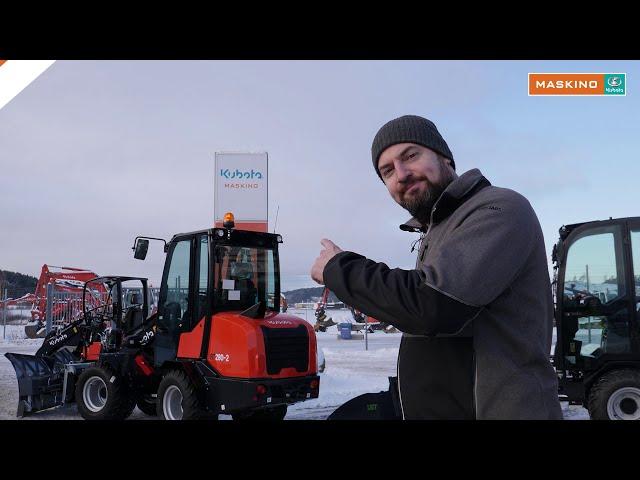 Nya maskiner i RT serien från Kubota