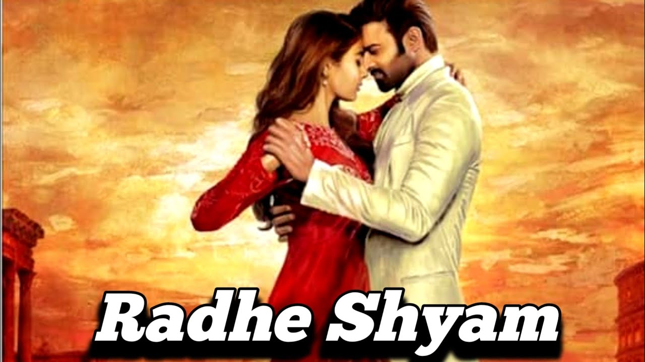 Radhe Shyam First Look | radhe shyam movie prabhas