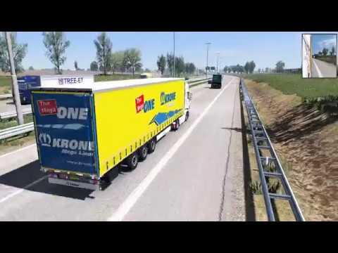 ETS 2 1.32 Scania RJL Amsterdam To Osnabruck *** RGM+NextGen Graphic***