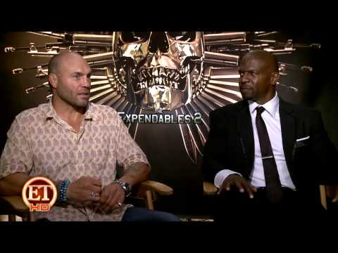 The Expendables 2 - Cast Interview
