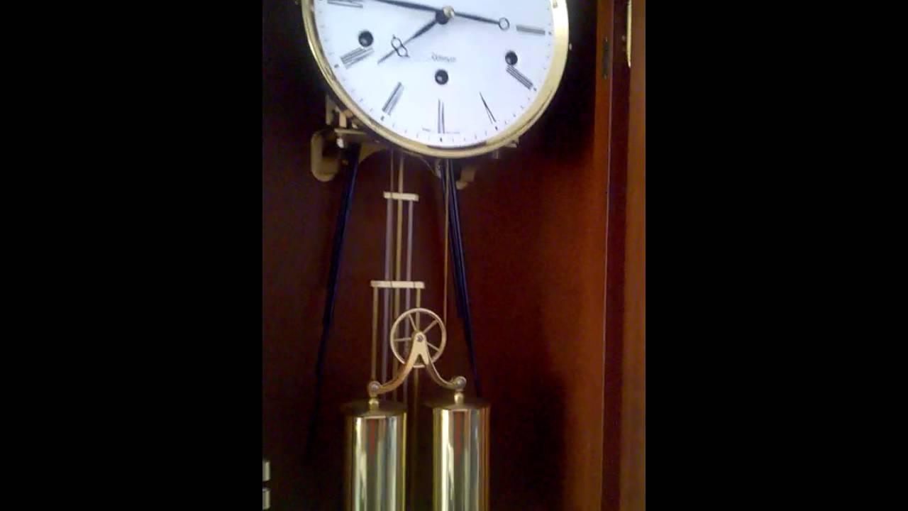 German Kieninger Westminster Chime Wall Clock Youtube