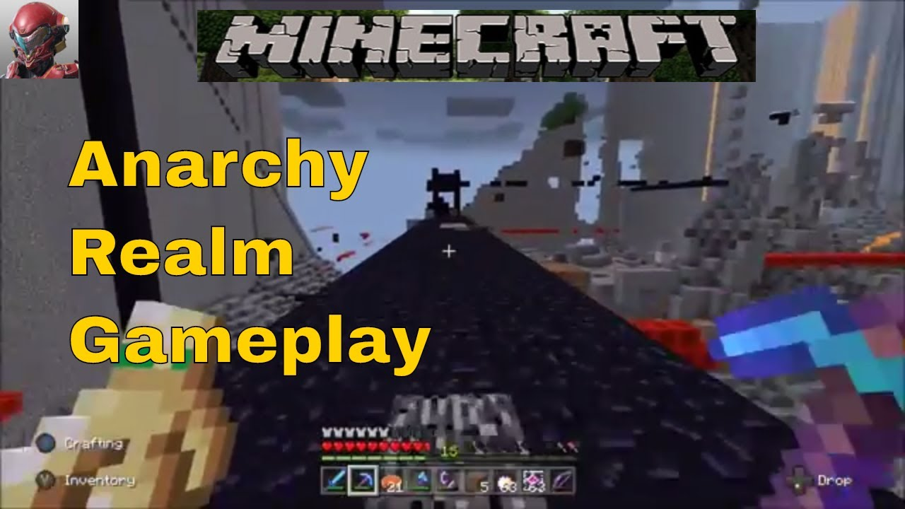 Minecraft Anarchy Realm Gameplay Chaos and More Chaos