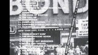 The Clash - Bonds NYC Full Show