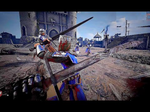 Chivalry 2 - Exclusive 64 Players Siege Battle Gameplay (New Medieval War Game 2020)