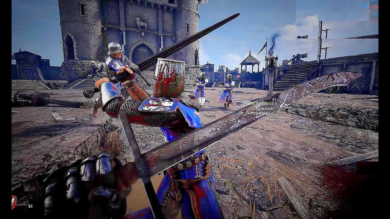 Chivalry 2 - Exclusive 64 Players Siege Battle Gameplay (New Medieval War  Game 2020) - YouTube