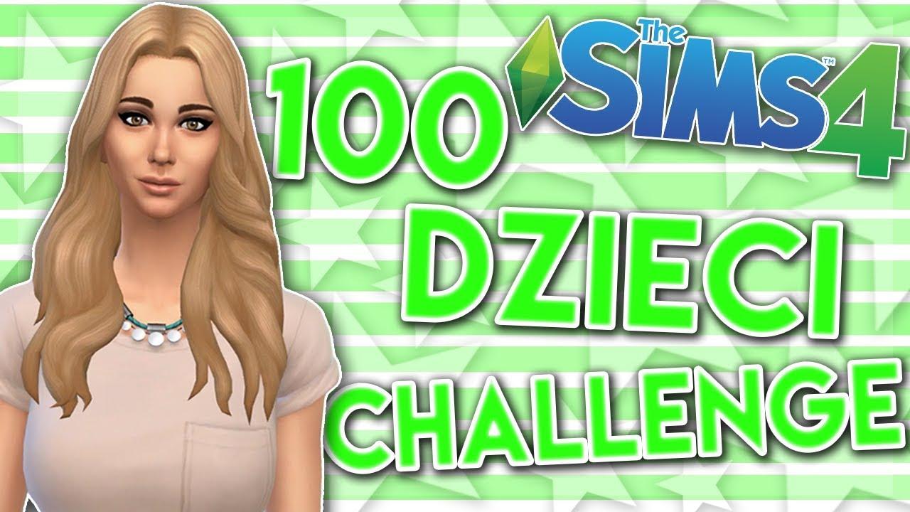 THE SIMS 4 CHALLENGE 100 DZIECI #144 ZABRALI PSA :(