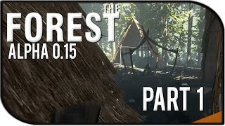 The Forest 0.15 Gameplay Part 1 – BETTER BOW, NEW VILLAGES, AND NEW AXE?!?
