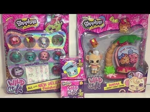Duncan Shopkins Wild Style Shoppet Pack Sweet Donut Swing Play-set