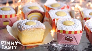 Hokkaido CupCake Recipe  ฮอกไกโดคัพเค้ก หอมนุ่มละลายในปากรสหวานมันกลมกล่อม