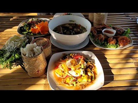 Frisches Thaifood Essen in der Natur von Thailand