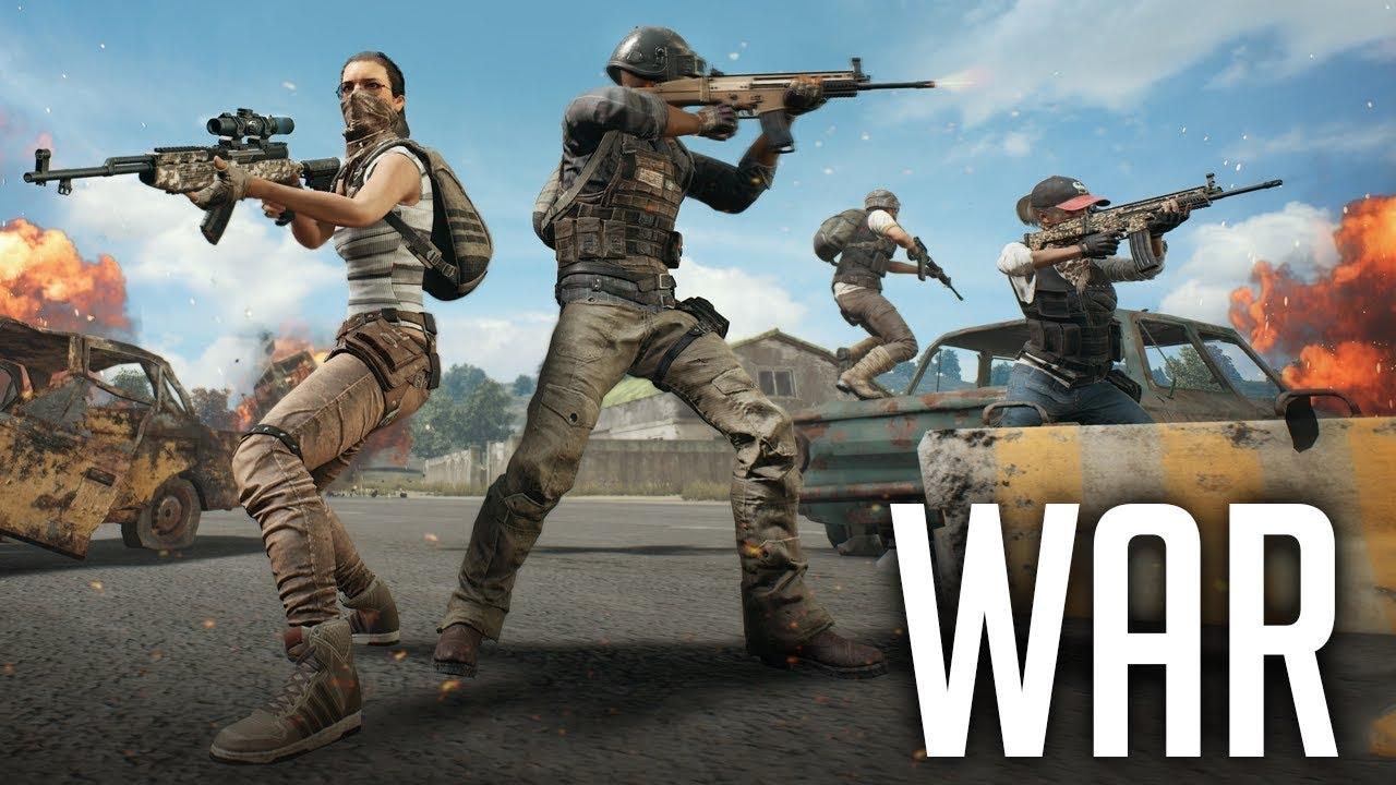 PUBG War Mode Is FUN! (Playerunknown's Battlegrounds