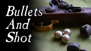 How Were Bullets and Shot Made? - Q&A