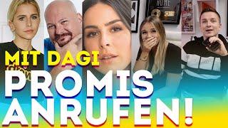 Mit Dagi Bee PROMIS anrufen und zum SINGEN ZWINGEN!   Lena Meyer-Landrut, Caro Daur & XXL JUMBO