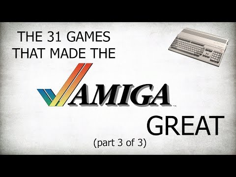 The 31 Games That Made The Amiga Great - Part Three