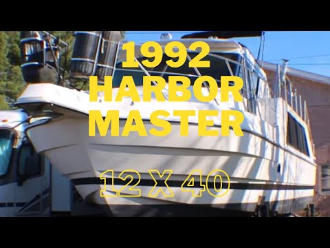 1992 Harbor Master 12′ x 40′ Cruiser For Sale by CruisersBuyTerry.com