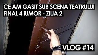 CE AM GASIT SUB SCENA TEATRULUI (Vlog #14)