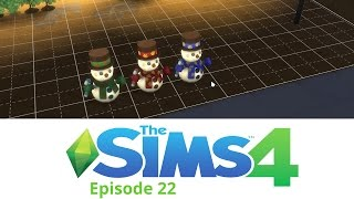 Mobius Plays The Sims 4: Ep 22 - Holiday Celebration Pack - S4_22