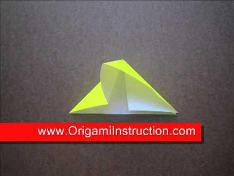 paper folding origami waterbomb base youtube