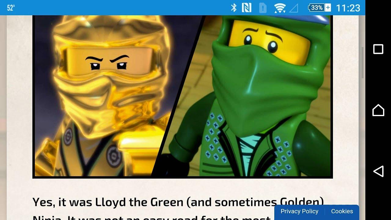Lego Ninjago Wu-Cru: Know-Your-Ninja Quiz - YouTube