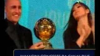 PREMIAZIONE FABIO CANNAVARO PALLONE D'ORO (Golden ball)