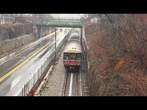 MBTA's next-gen Red Line train rolling on new test track