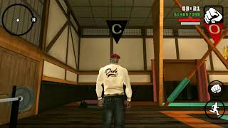 Gta San Andreas - Gym,exercise & learning new fighting moves