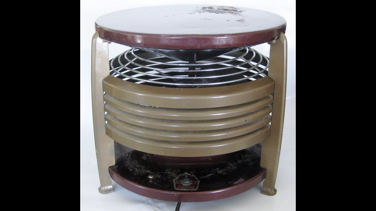 Vintage fasco floor model fan 6a1e 23u youtube