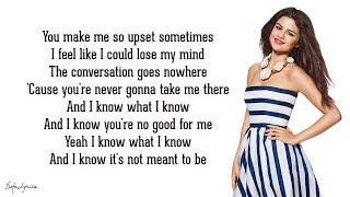 Selena Gomez & The Scene - My Dilemma 2.0 (Lyrics)