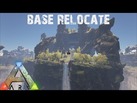 ARK Survival Evolved - The Center Floating Island Base - Annunaki Genesis Modded S1E4