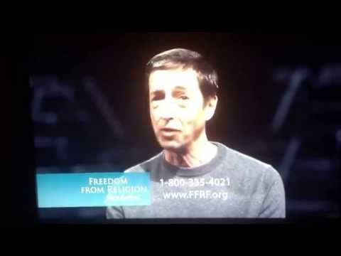 Ron Reagan speaks for FFRF and Jon Stewart has a surprise ending