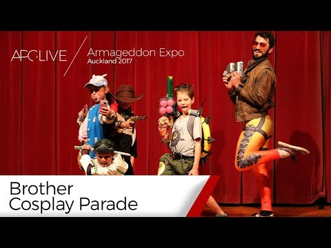Armageddon Expo 2017: Auckland - Brother Cosplay Parade [#APGLive]