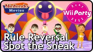 Wii Party - Spot the Sneak/Rule Reversal (2 players)
