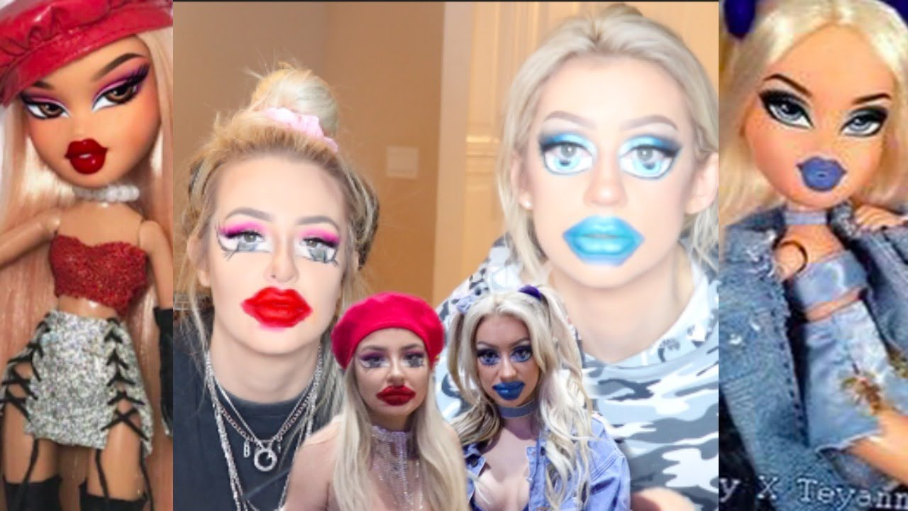 [VIDEO] - turning ourselves into Bratz Dolls (my worst video yet) (i'm SO sorry) 7