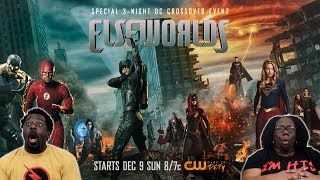 ELSEWORLDS Part 2 REACTION/DISCUSSION!! {Arrow 7x9}