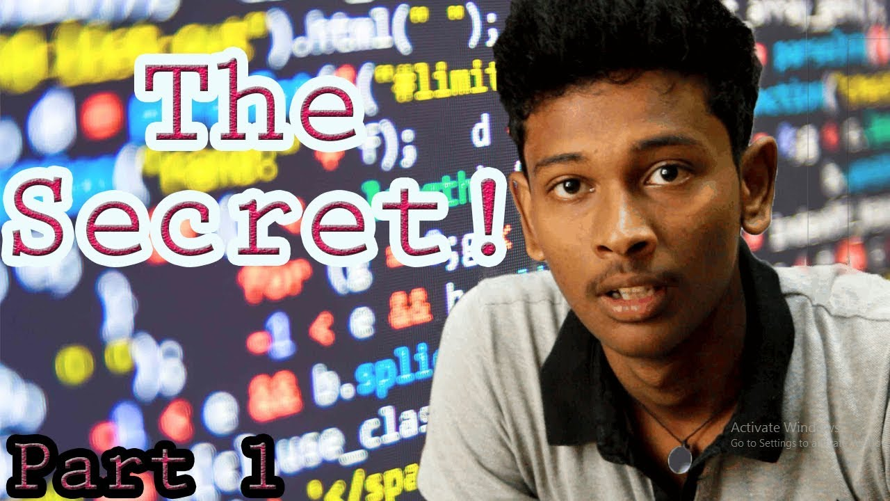 The Secret to Learn any Programming Language – Logic Building [Part 1/2]