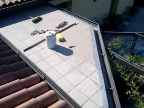 Impermeabilizzazione terrazzo - YouTube