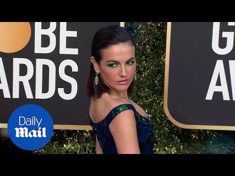 Beauty in blue! Camilla Belle slays 2019 Golden Globes carpet