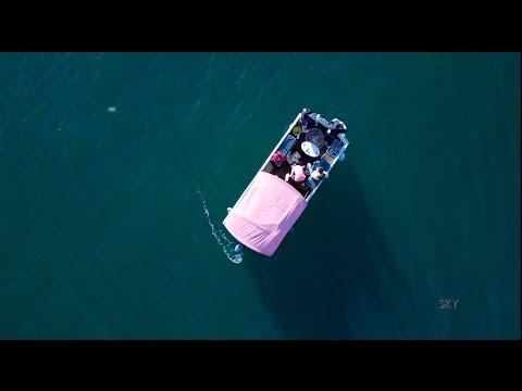 Alf Stewart's fishing spot Palm Beach via Aerial Drone 4k