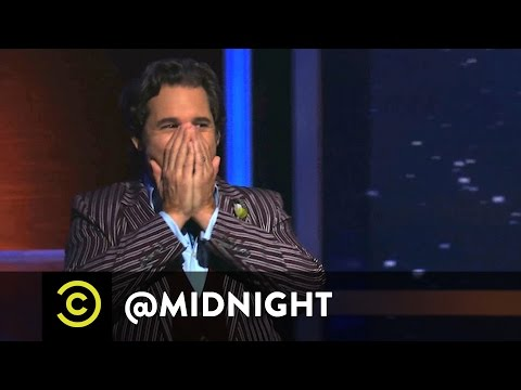 Paul F. Tompkins Outtake  Black and WTF  @midnight w Chris Hardwick  Uncensored