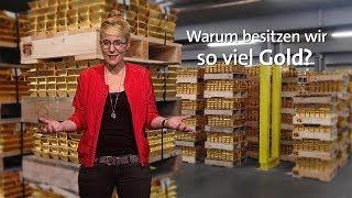 #kurzerklärt: Warum besitzt Deutschland so viel Gold?
