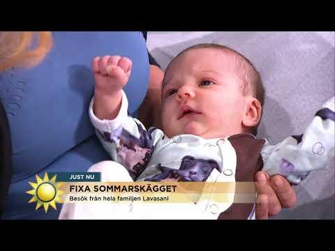 Här överraskar Soraya programledarna med dottern - Nyhetsmorgon (TV4)
