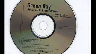 Green Day Boulevard of Broken Dreams (pop clean edit)