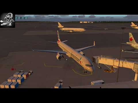 (X-Plane 11)World Airports-US-Alaska//Ted Stevens (PANC) to Wiley Post  (PABR)//FF 757