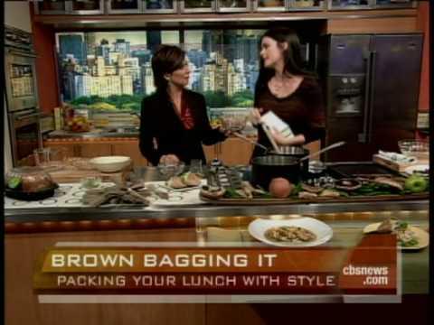 Katie Lee's Chic Brown Bag