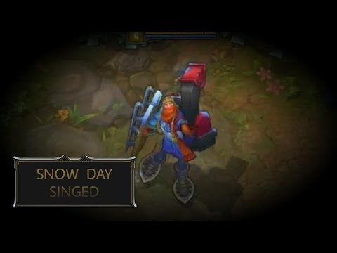 Snow Day Singed Skin Spotlight