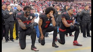 NFL Bans Kneeling In Protest During The...