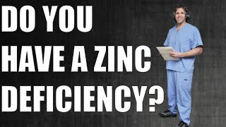 zinc deficiency symptoms and zinc testing