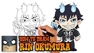 How to Draw Rin Okumura | Blue Exorcist