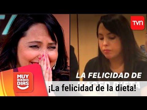 ¡Chiqui Aguyo y la felicidad de estar a dieta! | Muy buenos días