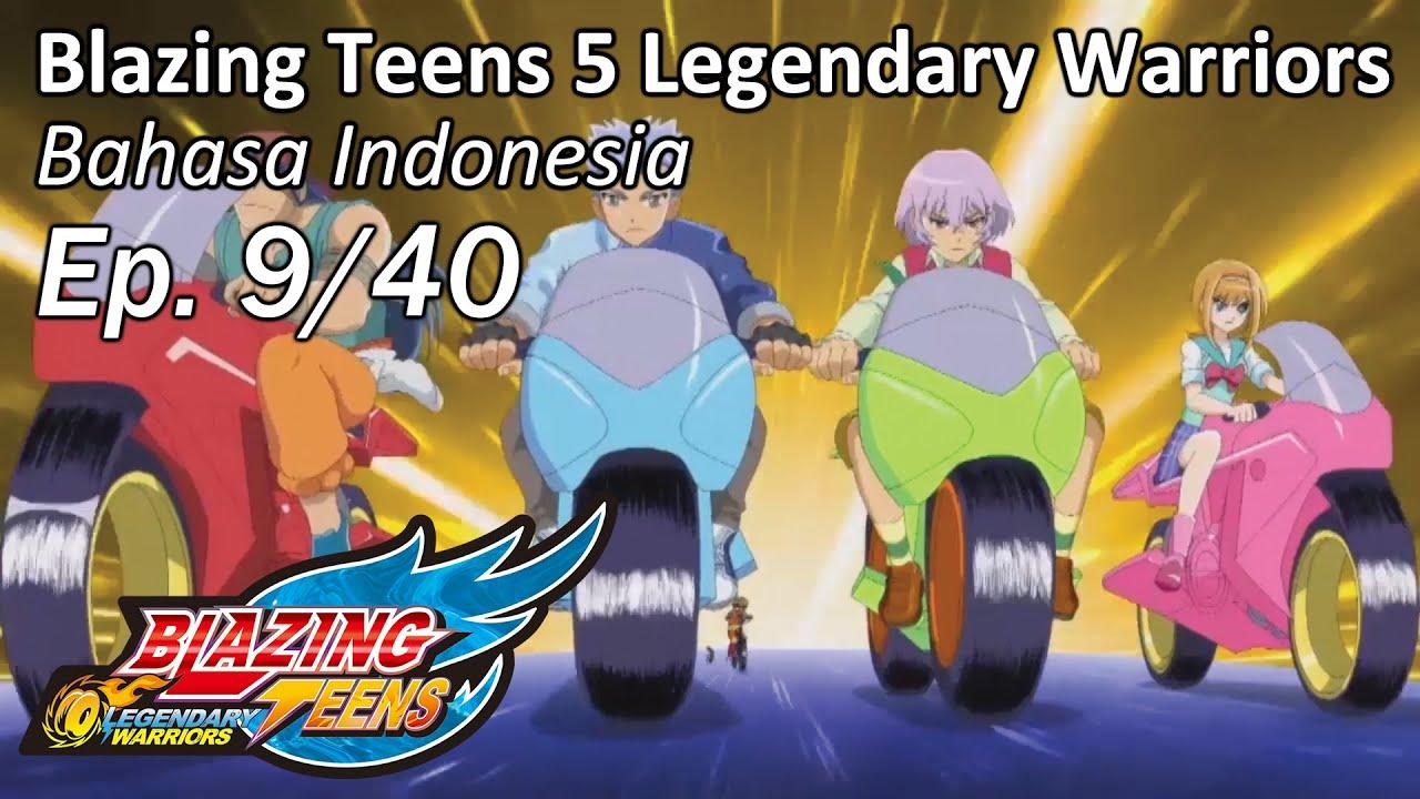 blazing 5 legendary warriors bhs indonesia ep 9 40